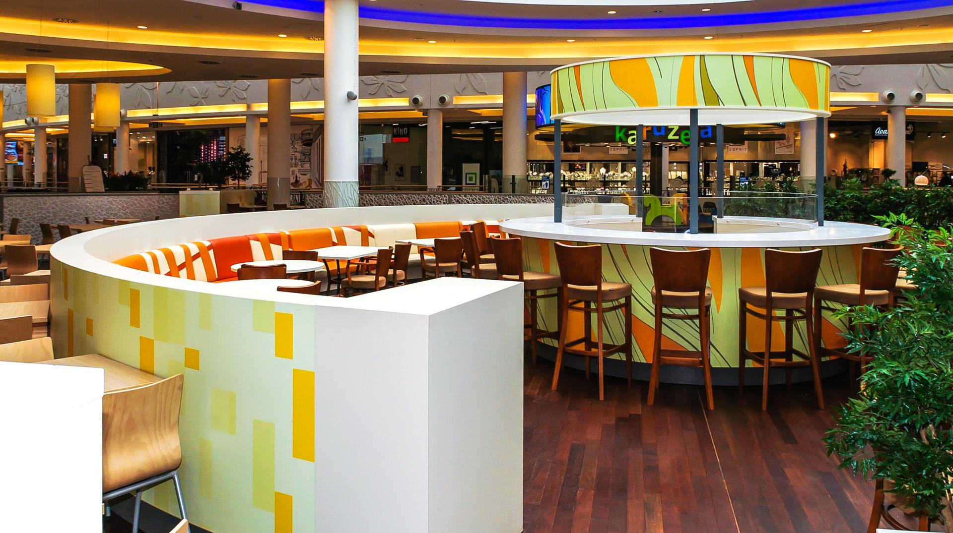 food court auchan w krakowie fabryka mebli meblosystem